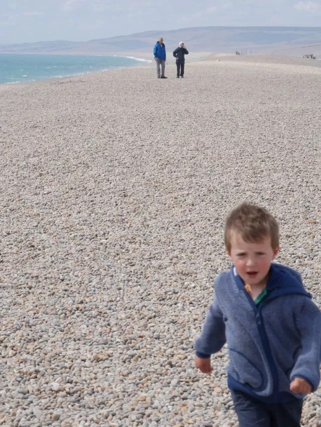 walking on chesil beach