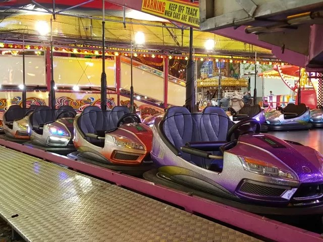 dodgems at Banbury fair