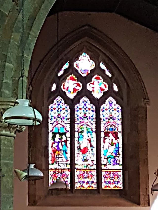 Shenington Church stained glass window