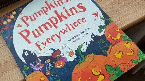 Pumpkins Pumpkins Everywhere – getting ready for Halloween