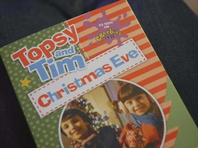 Topsy and Tim Christmas Eve dvd review