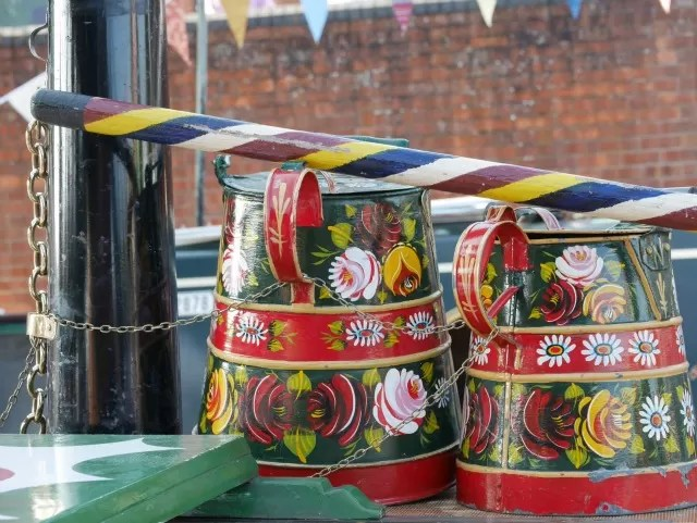 canal boat jugs