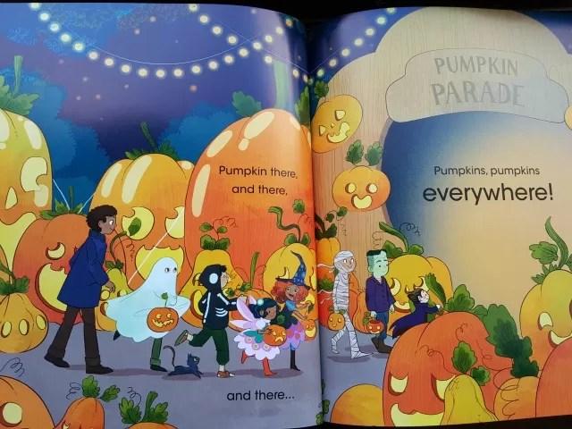 inside pumpkins pumpkins everywhere book