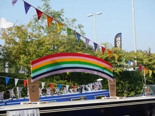 rainbow theme boats