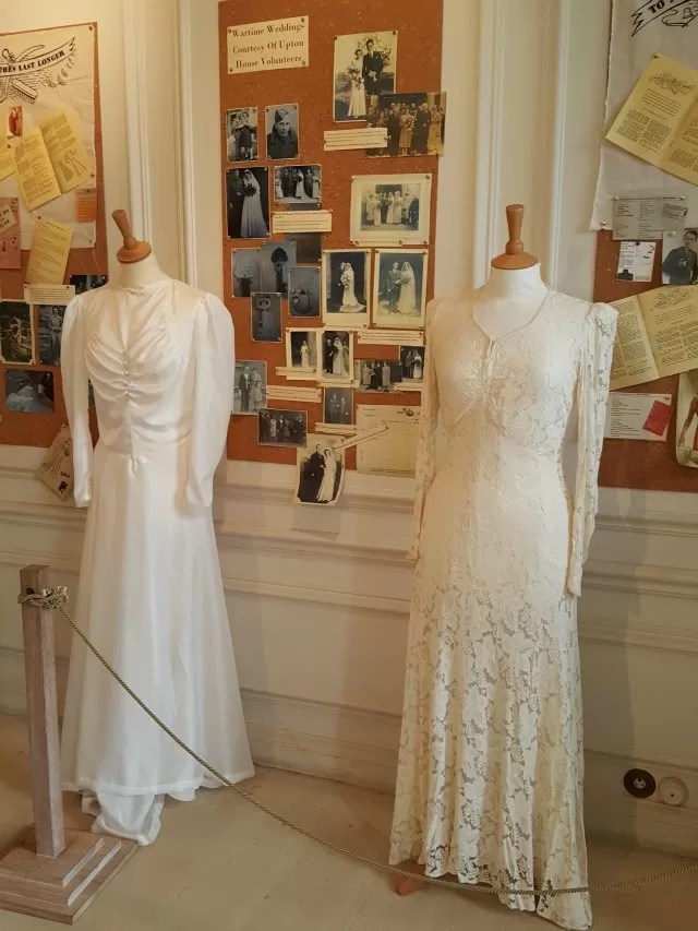 wedding dresses at Upton House