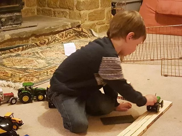 making farm tracks