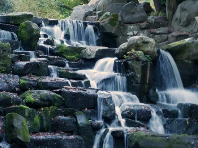 Cascades at Virginia Water