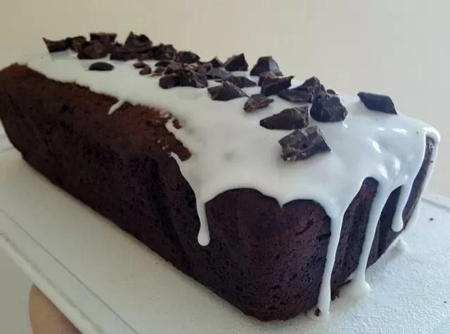 Sticky toffee cake loaf