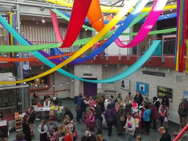 Warwick arts centre family activities