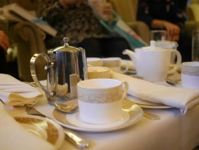 afternoon tea at mallory court