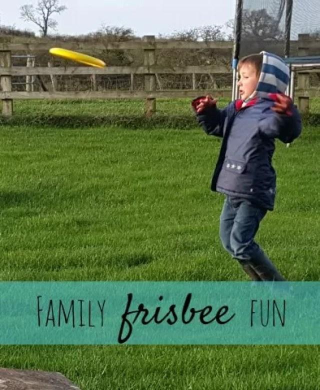 family frisbee fun