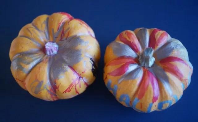 pumpkin fire or flower designs
