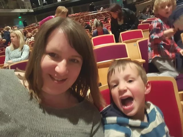 selfie at a concert