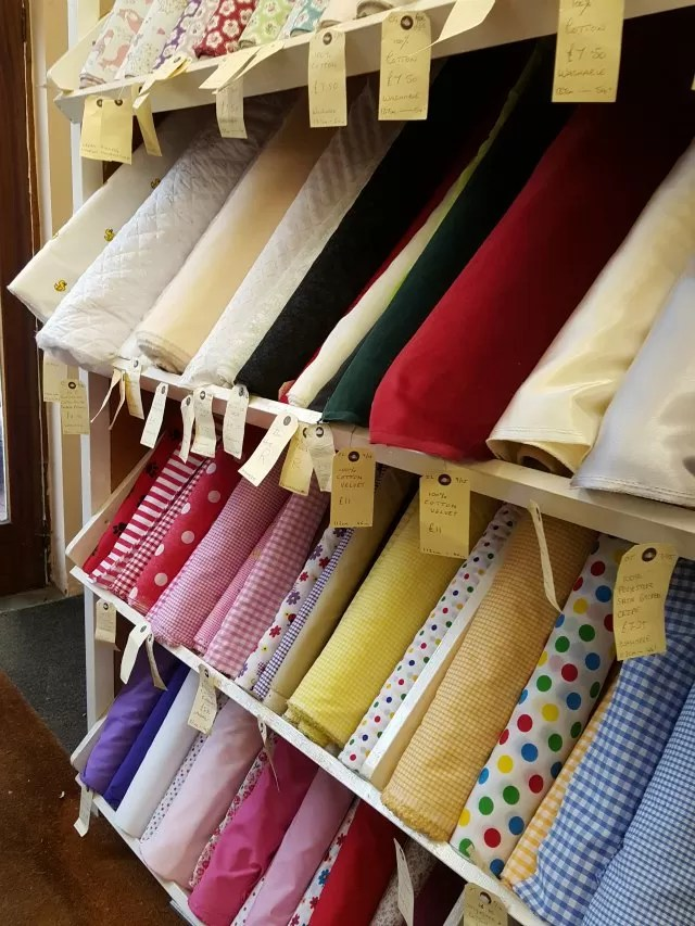 fabric shop for nativity costume making