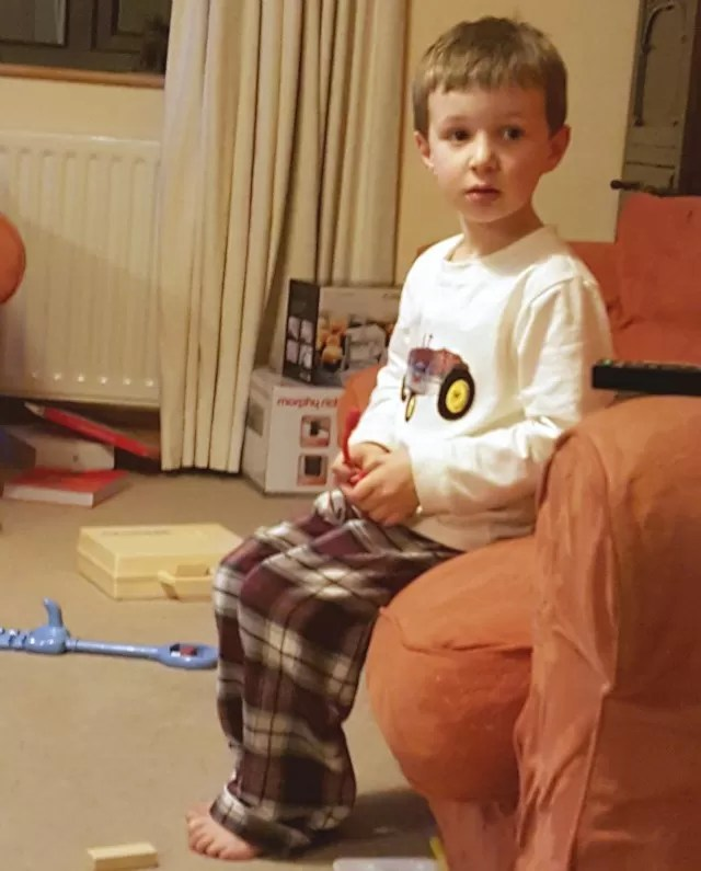 mini vanilla boys pyjamas from House of Fraser