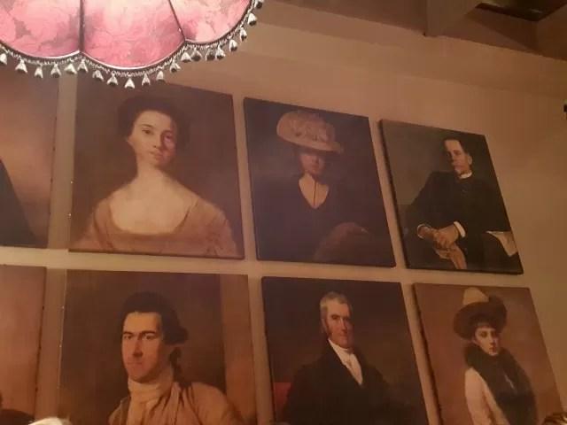 portraits in 3 pigeons pub