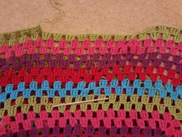 run out of yarn in my crochet