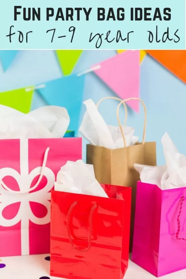 Fun party bag ideas for 5-8 year olds