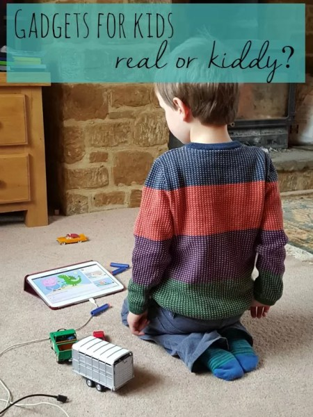 electronic gadgets for kids - real or kiddy - Bubbablue and me