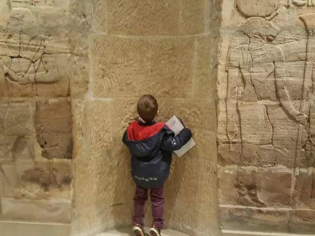 investigating tombs at the Ashmolean