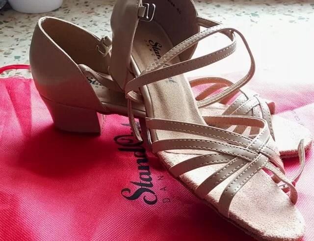 nude west coast swing shoes