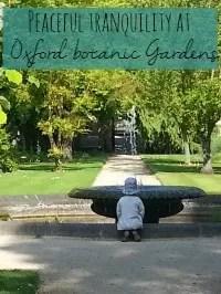 oxford botanic gardens