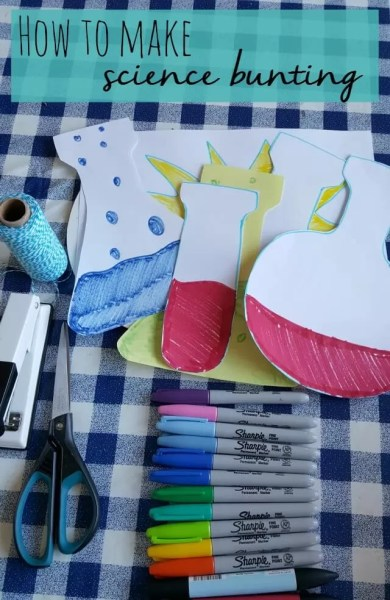 How to make science bunting