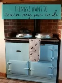 things I want to train my son to do