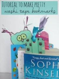 washi tape bookmark tutorial