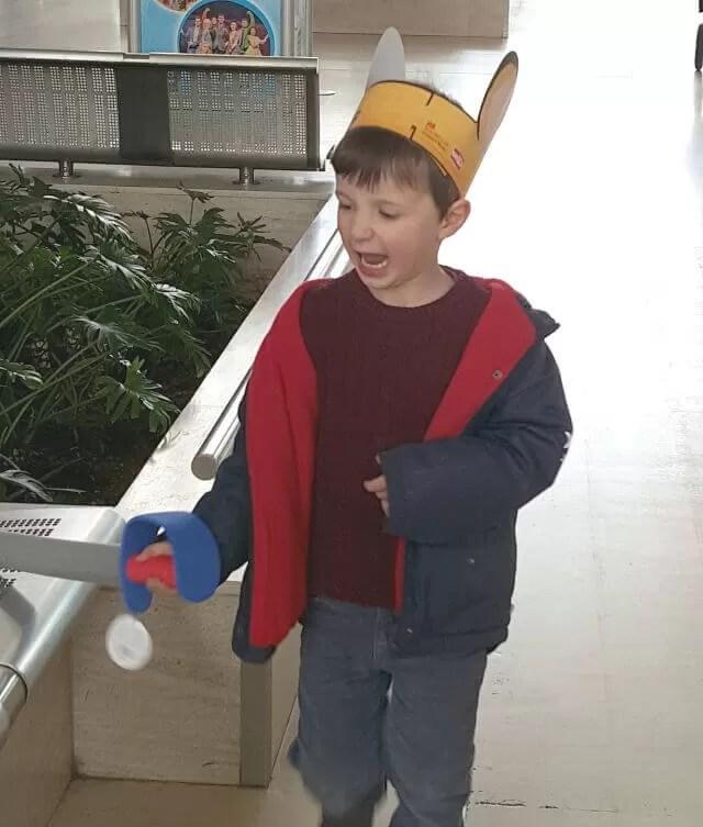 being a sword wielding mouse in Milton Keynes