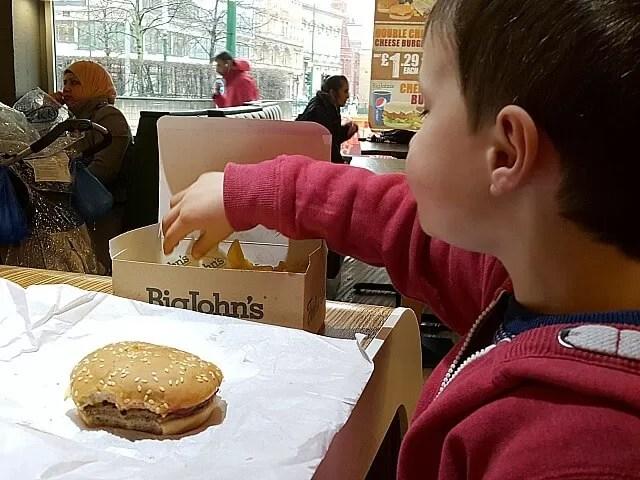 Big John's burgers Birmingham