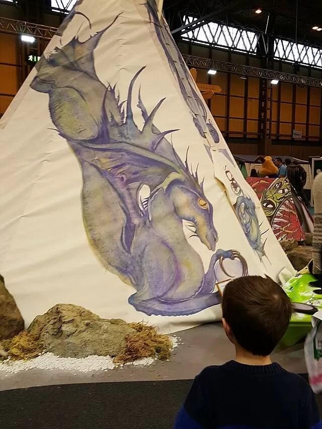 Dragon wigwam tent