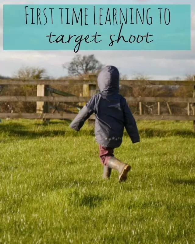 First time learning to target shoot on the farm. A way to show trust, and let him learn about discipline, safety and correct use of a gun.