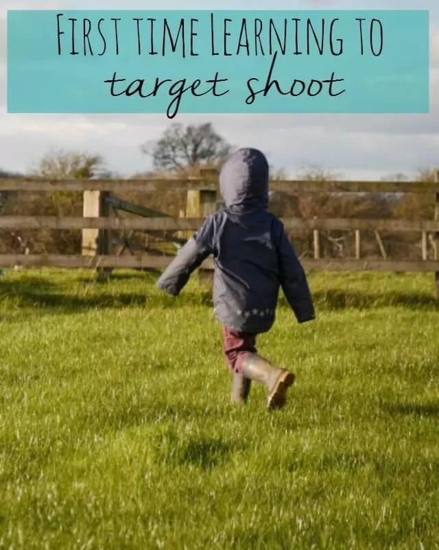 first time target shooting