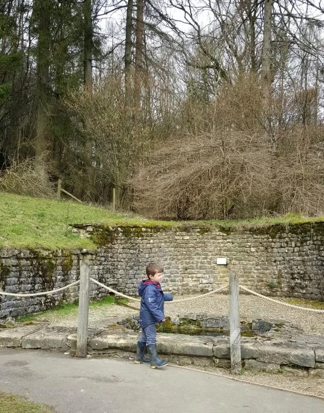 Water spring at Chedworth