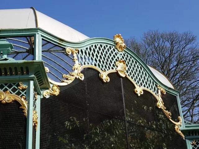 aviaries at Waddesdon Manor