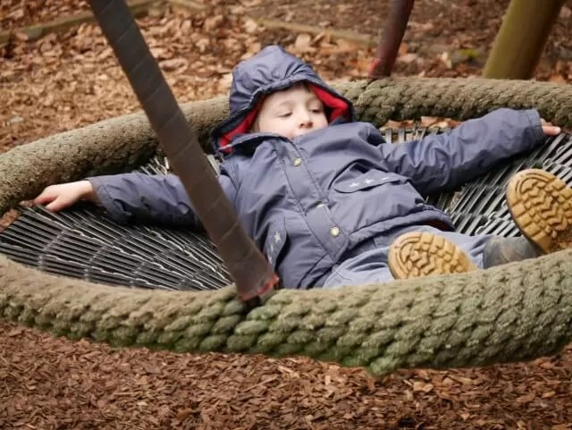 chill out on the swing at Waddesdon manor