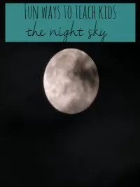 teach kids the night sky