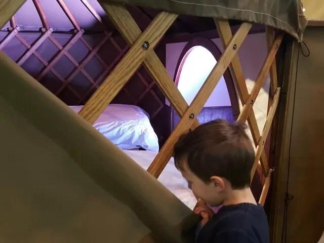 luxury yurts
