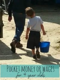 pocket money or wages