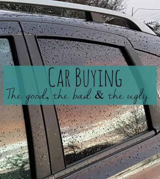 Car buying - the good the bad and the ugly Bubbablue and me