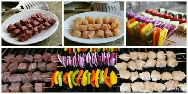 Chicken BBQ - best way to cook shish kabobs