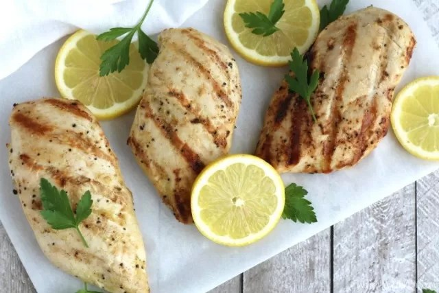 Chicken bbq - Lemon Garlic Chicken