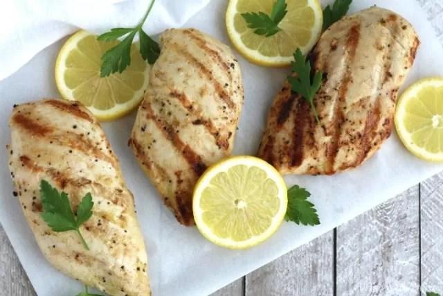 Chicken bbq - Lemon Garlic Chicken