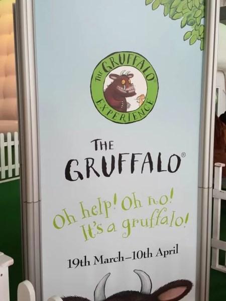 Gruffalo experience Easter 2016 Milton Keynes