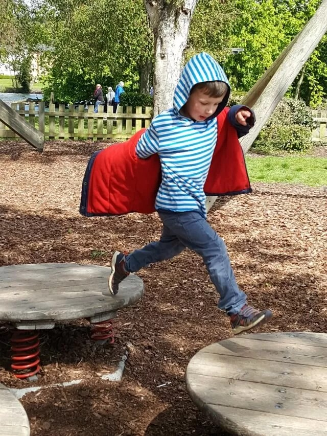 Living Arrows - running jump at a Henley playground