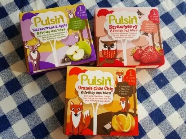 Pulsin kids fruity oat bars