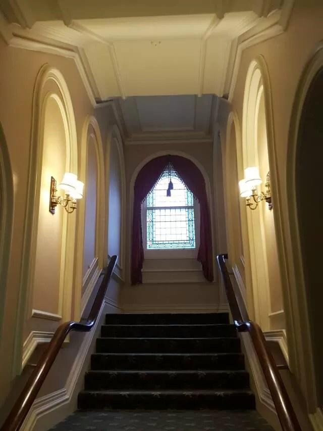 corridor in Grand Hotel Eastbourne