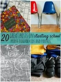 20 posts preparing for school