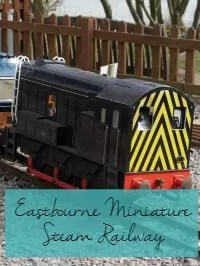 eastbourne steam railway